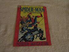 Rare Marvel Comics The Amazing Spider-Man 30th Anniversary Poster Magazine