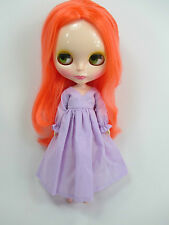 Blythe Outfit Handcrafted nightgown pajamas dress basaak doll lilac 955-16