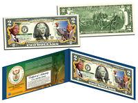 NELSON MANDELA *President of South Africa* Official Legal Tender U.S. $2 Bill