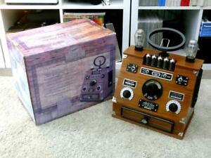 Spirit of St. Louis Wireless Valve Radio 1920s Replica ~ Boxed / Excellent
