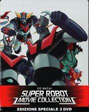 GO NAGAI SUPER ROBOT MOVIE COLLECTION EDIZIONE SPECIALE STEELBOOK 3 DVD