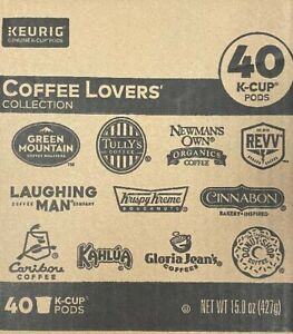 Keurig Coffee Lovers Collection 40 ct
