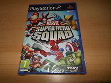 MARVEL Super Hero Squad PS2 PLAYSTATION 2 NUOVO SIGILLATO