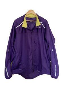 Nike Storm Fit Windbreaker Purple & Yellow Jacket Long Sleeve Size XXL