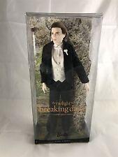 Mattel 2011 The Twilight Saga Breaking Dawn Wedding Edward X3916 Barbie NRFB