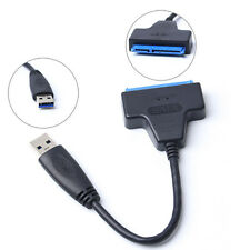 """USB 3.0 To 2.5"""" Inch SATAIII 22 Pin HDD SSD Hard Drive Disk Power Adapter Cable"""