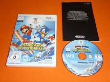 Nintendo Wii Spiel : Mario & Sonic bei den Olympischen Winterspielen