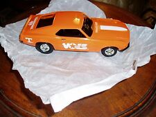 Tennessee Volunteer Vols Ertl 1969 Ford Mustang Die Cast Bank 1/25 scale - NIB