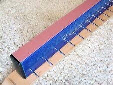 Sandpaper Strip 240 grit fits Sanding Beam Fret level 1x16 luthier tool file