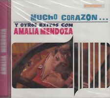 Amalia Mendoza Mucho Corazon Y Otros Exitos CD Nuevo Sealed