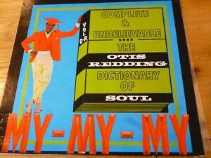 OTIS REDDING 'DICTIONARY OF SOUL' VINYL ALBUM CANADA ISSUE ATLANTIC SD 33249