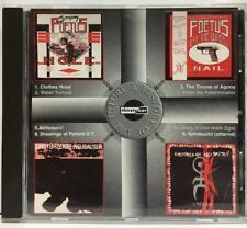 "Foetus, Einsturzende Neubauten ""A History Of The Future"" CD Promo 1995 HTF"