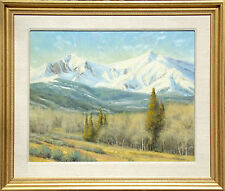"Dan Young ""Change of the Seasons "" Hand Signed Original Oil Painting, mountains"