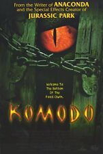 KOMODO Movie POSTER 27x40 Jill Hennessy Billy Burke Kevin Zegers Paul Gleeson