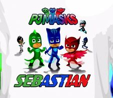 PJ Masks Custom T-shirt Personalized tshirt Birthday gift, Catboy, Gekk Gift Tee