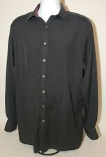 Thomas Pink Mens Button Down Shirt Pink Panther Edition Flip Cuff Size 17-36.5