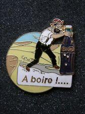 pin's HADDOCK coca cola france , tintin ,  dim: 38x40mm - hergé , kuifje  bd