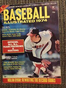 1974 Baseball Illustrated Magazine Nolan Ryan, California Angels Pete Rose