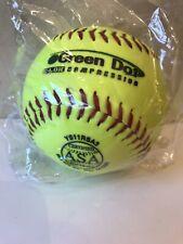 "Worth 11"" Slowpitch Softball Asa Certified Green Dot C-Lok Compression Ys11Rsa3"
