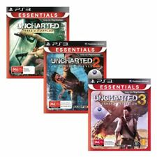 Uncharted Triple Pack PS3 Game USED