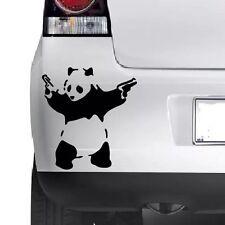BANKSY PANDA STICK EM UP Funny Car/Van/Bumper/Window Laptop Vinyl Decal Stickers