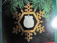 1990 Hallmark GREATEST STORY Ornament NATIVITY ORNAMENT #1 IN SERIES Porcelain