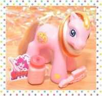 ❤️My Little Pony G3 Baby Charm Bracelet Pink Rainbow Hair 2005 Target Excusive❤️