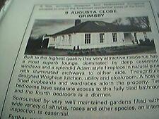 ephemera lincolnshire 1983 advert 9 augusta close grimsby