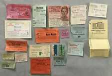 Lot vintage 1950's -1960's travels DUBLIN EUROPE TICKETS - PASSES HOTEL THEATRE