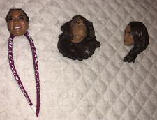 WWE NIA JAX Wrestling Figure 3 HEADS Mattel Elite Custom Fodder NXT DIVA