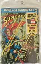 1975 Superman Power Book And Record Set PR-28 Sealed New