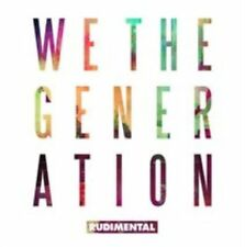 Rudimental We The Generation CD 18 Track Explicit Version With Card Outer