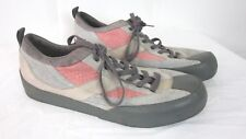 Giro Monte G Womens  Cycling Shoes Size 11.5 Suede Pink Gray