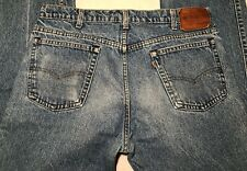 """VTG Levis Leather Tab Jeans """"With A Skosh More Comfort"""" 38.5"""" Waist 37"""" Inseam"""