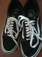 Vans Old Skool Pro Skate Shoes - Men's Size 9.5  Black