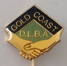 Gold Coast District Friendship Bowling Club Badge Bar Pin Lawn Bowls (M23)
