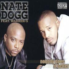 Nate Dogg Nobody does it better (1999, feat. Warren G) [Maxi-CD]