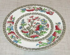 Johnson Brothers Indian Tree Bread Plate Cream with Green Greek Key
