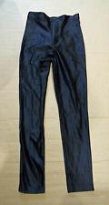 Small American Apparel Disco Pants, Black, Size S - Shiny Lycra Spandex