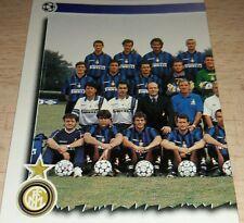 FIGURINA CALCIATORI PANINI 1997/98 INTER SQUADRA ALBUM 1998