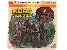 View-Master KORG 70,000 BC (ABC Television series 1974)  reels book– B557 - RR9