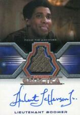 Battlestar Galactica Colonial Warriors Herbert Jefferson Autograph Costume Card