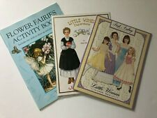 Paper Dolls - all new, 2 sets of Little Women, 1 Flower Fairies activity book