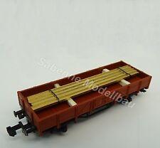 Fleischmann N Niederbordwagen mit Ladegut aus Startpackung TOP C1415