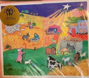 The Journey Fold-out Advent Calendar Card 1999 Vintage Sealed New Orleans LA