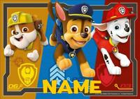 PAW PATROL c PERSONALISED PLACE MAT DINNER MAT TABLE MAT