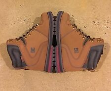 DC Peary Boots Cocoa Size 7.5 US Men's Water Resistant Boots BMX MOTO Skate