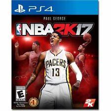 PS4 NBA 2K17 17 2017 Basketball Paul George NEW Sealed Region Free USA