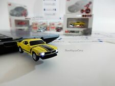 USB 8GB Autodrive 1970 Ford Mustang Boss 302 ORIGINALE,  flash PEN drive GIALLA