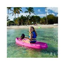 Lifetime Youth Kayak Pink Paddle Camping Fun Kid Water Safe Play Stable Children